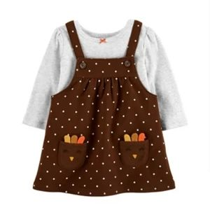 Carters My 1st Thanksgiving outfit Size Newborn